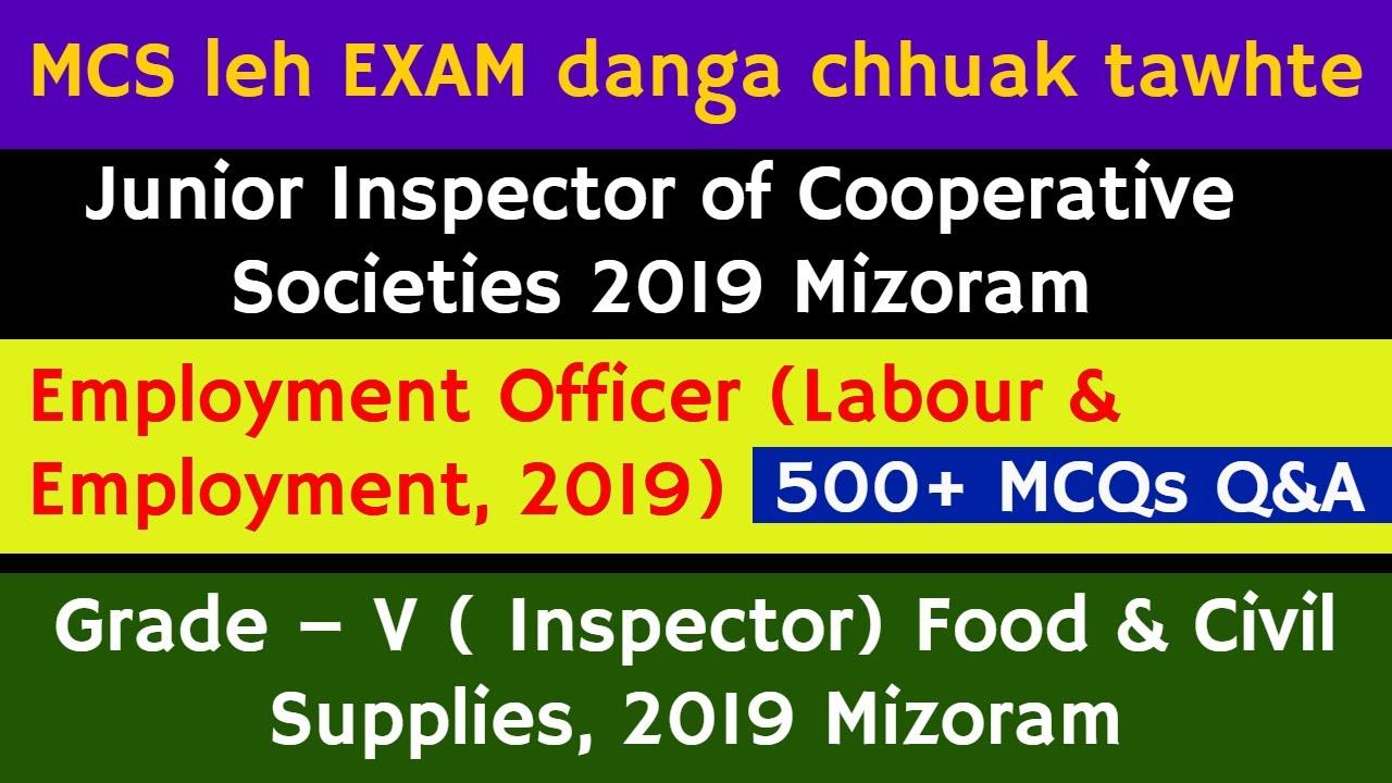 Download Mizo GK/History/Current Affairs MCQs   MPSC leh Department hrang hrang exam-a chhuak tawh lawrkhawm