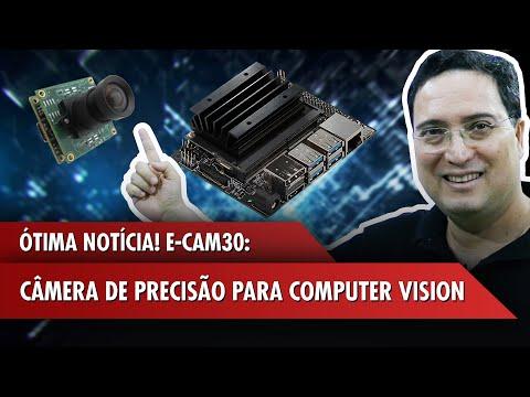 E-CAM30: câmera de precisão para computer vision