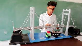 Suspension bridge civil best model