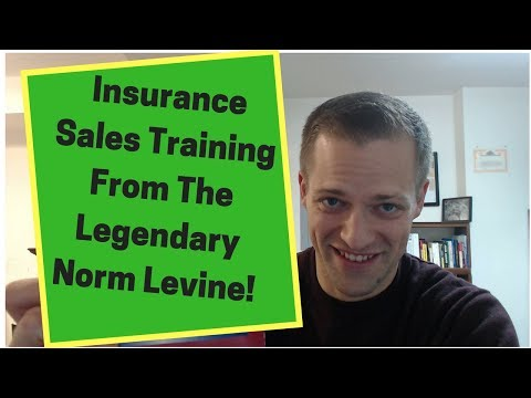 Life Insurance Sales Training - Motivational Speaking With Life Insurance Legend Norman Levine