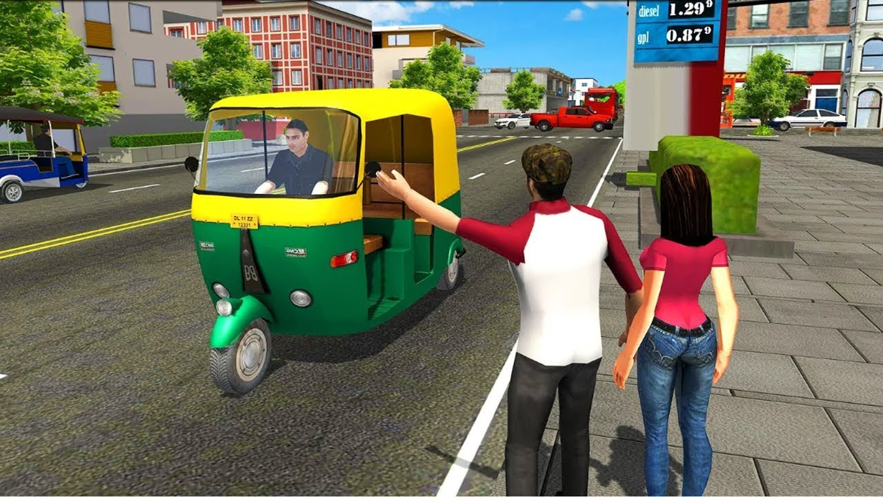 Tuk Tuk Driving Simulator – Lái Xe Tuk Tuk Chở Hành Khách