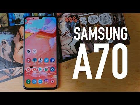 Обзор Samsung A70 2019 на Snapdragon 675! ТОП?