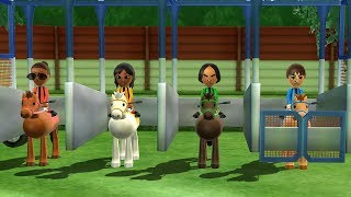 Wii Party - Derby Dash & Free Minigames| Cartoons Mee