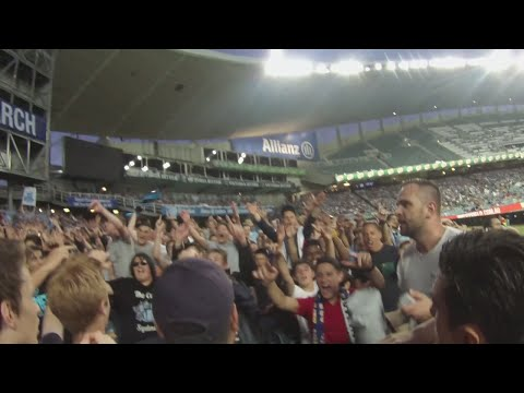 The Big Blue. Sydney Fc 3 - 3 Melbourne Victory. The Cove