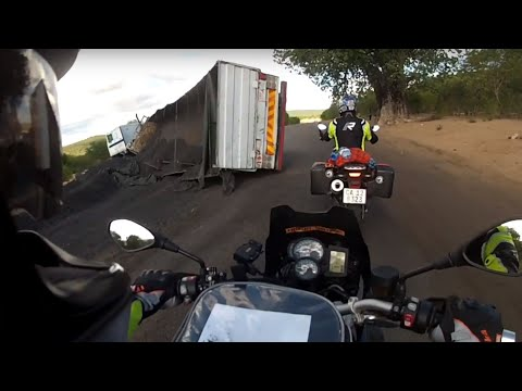 Motorcycle Adventure in Southern Africa - Ep4