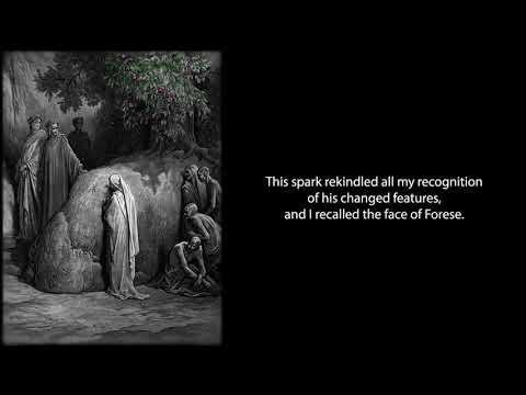 The Divine Comedy: Purgatorio Canto XXIII