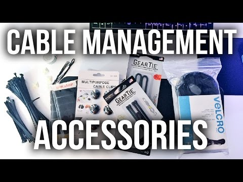Desk Setup Cable Management Accessories