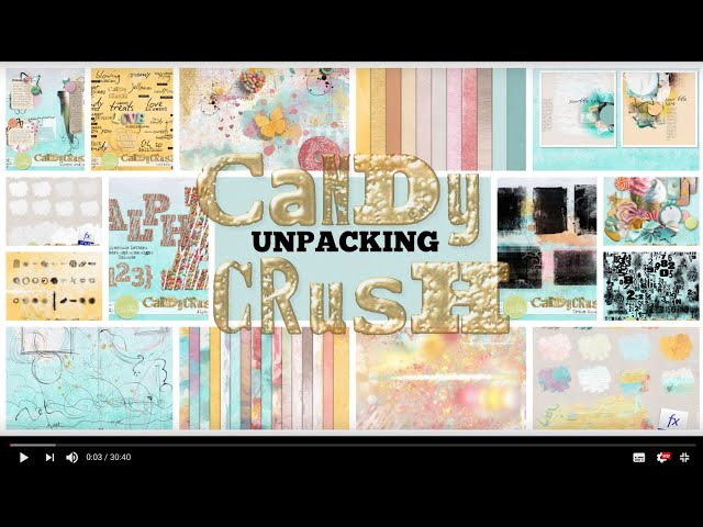 Candy Crush Collection - unpacking by NBK-Design