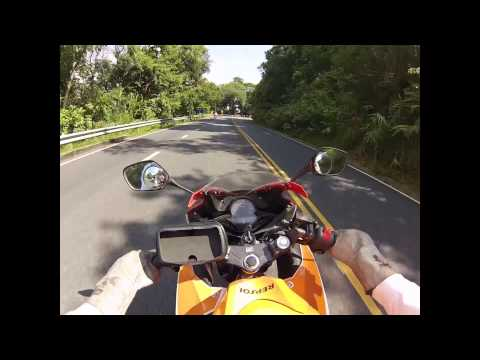 Doi Suthep Chiang Mai on Honda CBR300R