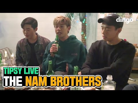Eric Nam Is Drunk Singing With His Brothers [Tipsy Live] • ENG SUB • dingo kdrama