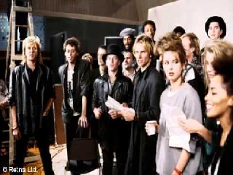 Band Aid 10 Year Anniversary BBC Radio 1 Audio Documentary (1994) Do They Know It's Christmas? 1984