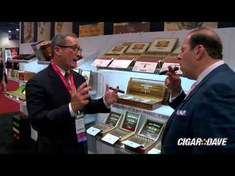 Alec Bradley Booth at the 2018 IPCPR Convention