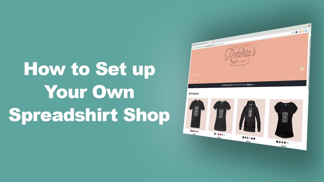 Design Online Shop Make Money With Spreadshirt T Shirt Design Templates Placeit
