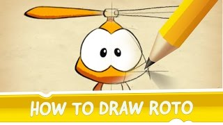 How to Draw Roto from Cut the Rope 2