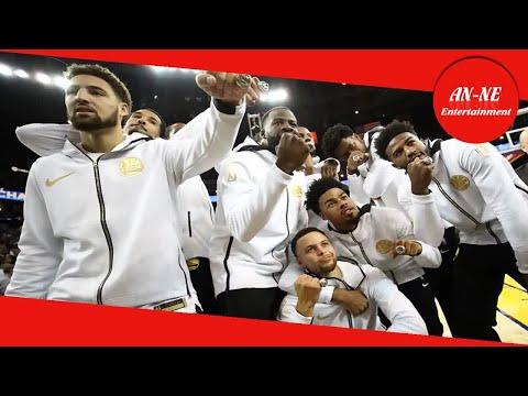 NBA, la cerimonia degli anelli e la premiazione dei Golden State Warriors