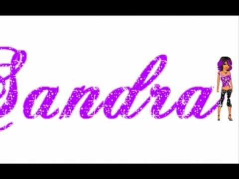Bon Anniversaire Sandra