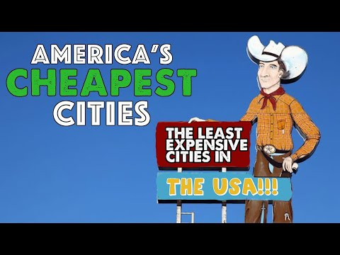 The 10 CHEAPEST CITIES In AMERICA