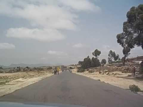 Eritrea  De Asmara a Keren  Small village  Pueblo  2016