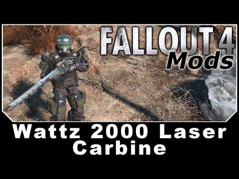 Fallout 4 Mods - Wattz 2000 Laser Carbine