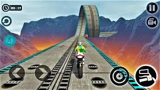 Impossible Moto Bike Tracks 3D 2018-Best Android Gameplay HD #25