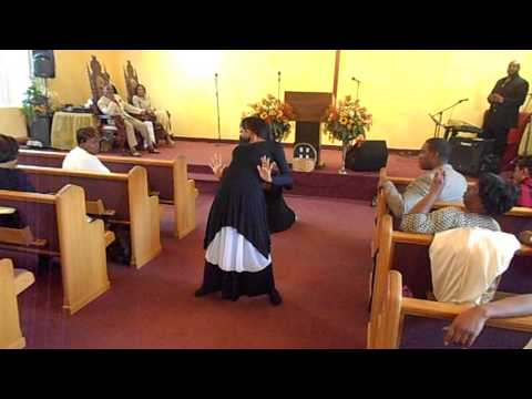 Let the Lord Minister to You Praise Dance