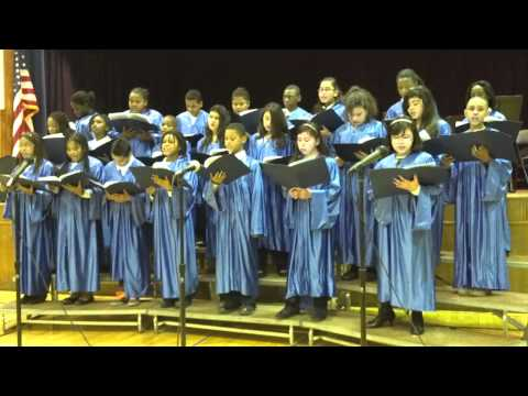 Deck the Halls by L V Moore School Chorus,Roselle, NJ 2011