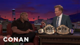 Daniel Cormier Broke The CONAN UFC Curse  - CONAN on TBS
