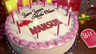 İyi ki doğdun MANSUR - İsme Özel Doğum Günü Şarkısı
