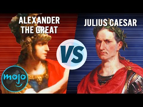 Alexander the Great vs Julius Caesar