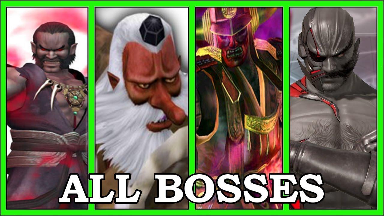 Evolution Of Dead Or Alive Bosses (1996-2021)