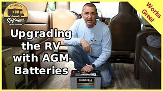 Replacing and Installing AGM 12V Deep Cycle Batteries in the RV – How To - RV Upgrades