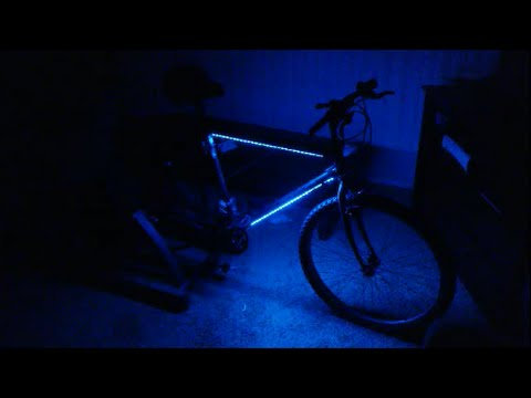 Bicycle Led Lights Installed Simple Cheap 2 0 12 Volt Improved