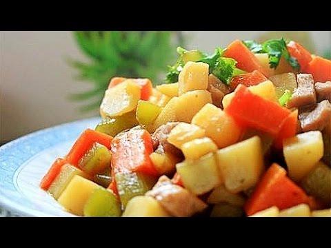 De China a Tu Cocina - Raíz de loto con apio y zanahoria+Hongo con verdura verde
