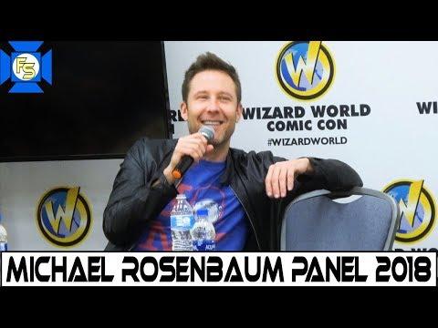 Michael Rosenbaum Panel  Wizard World Philadelphia 2018