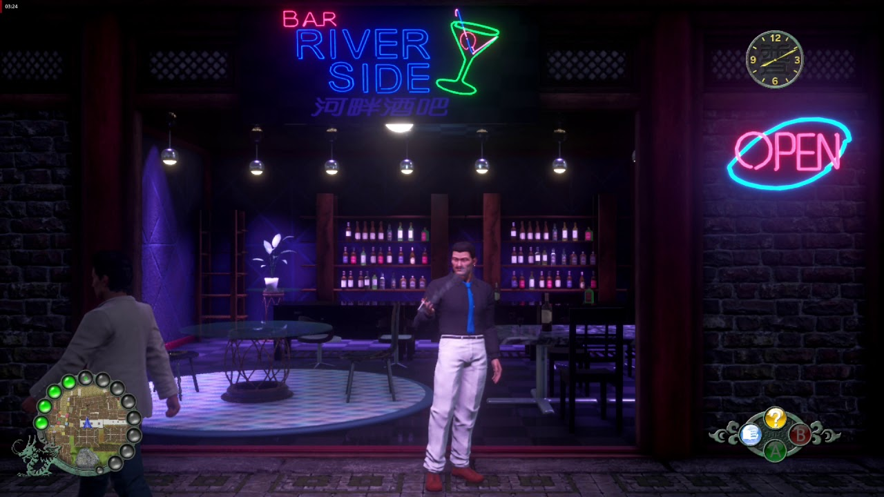Shenmue 3 Ambience - Bar River Side
