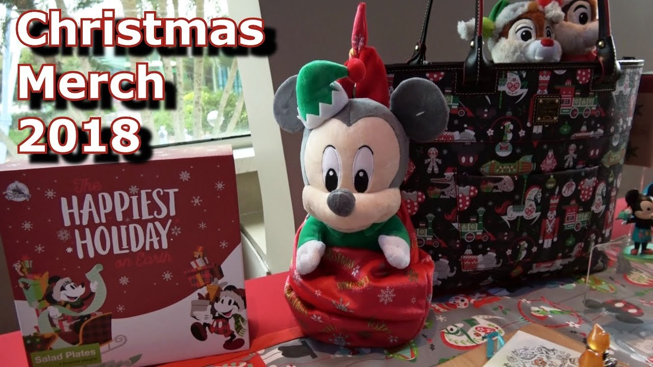 2018 Christmas Merchandise Preview - Walt Disney World Resort - YouTube