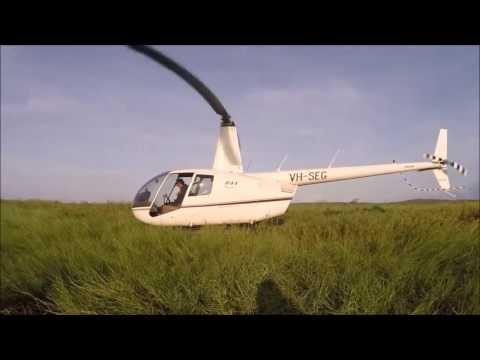 heli fishing and hunting NT
