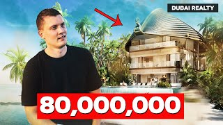 Inside 80,000,000 mansion in the World Islands, Du...