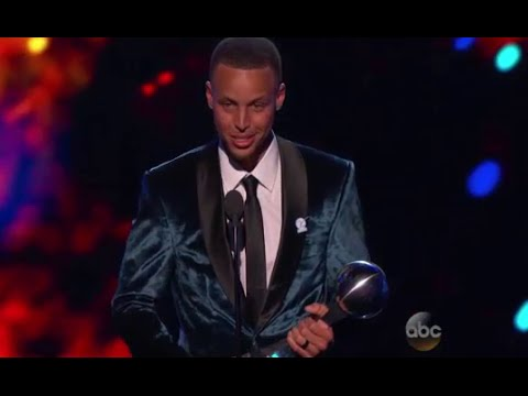 Stephen Curry Wins ESPY Awards 2016