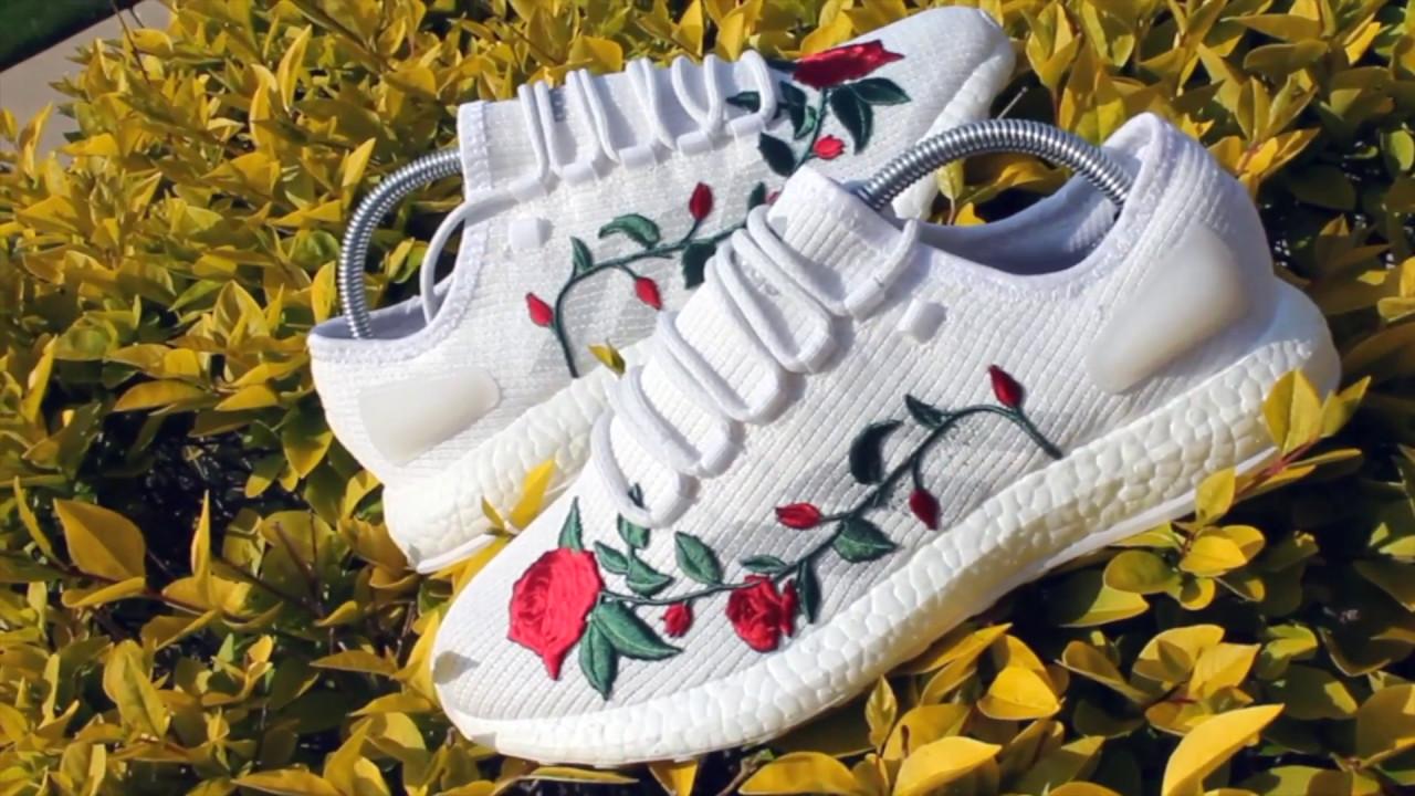 adidas pure boost rose