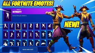 "*NEW* ""HAY MAN"" SKIN SHOWCASE WITH +80 FORTNITE DANCES & EMOTES..!!"