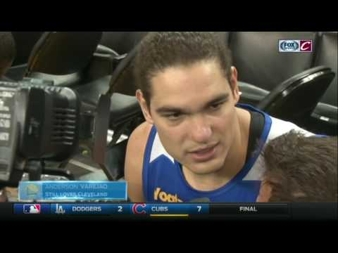 Anderson Varejao on facing the Cavaliers during the Finals