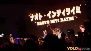 "Naoto Inti Raymi - ""Omakase Peter Pan"" & ""Shall We Travel"" @ Music Matters Live 2014"