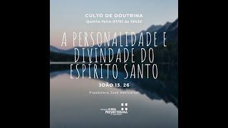 Culto Doutrina - 07 de janeiro de 2021