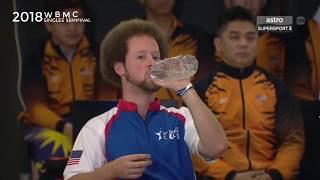 2018 WBMC Singles Semifinal 2   Rafiq Ismail Malaysia vs Kyle Troup USA
