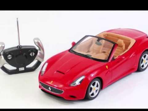 ferrari california voiture convertible de sport radiocommand e jouet pour les enfants youtube. Black Bedroom Furniture Sets. Home Design Ideas