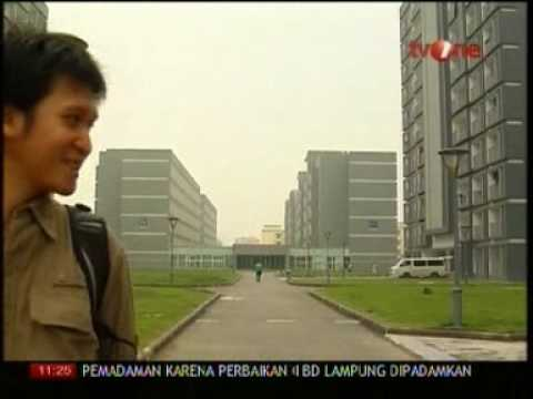 Study at Nanjing University Aeronautics Astronautics on Indonesia TV part 2