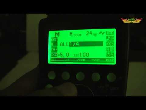 การสั่งงานแฟลชไร้สาย TTL Wireless Optical Slave