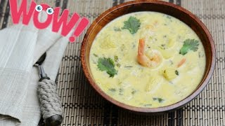Tasty Shrimp Thai Soup. Easy Simple Tasty Recipes. How to Make Thai Shrimp Soup