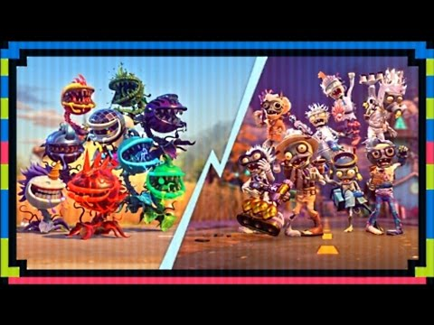 """PVZ Garden Warfare 2: """"LUNCHTIME AT THE LAB"""" Mystery ..."""